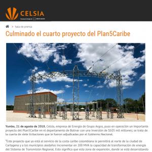 Culminado el cuarto proyecto del Plan5Caribe