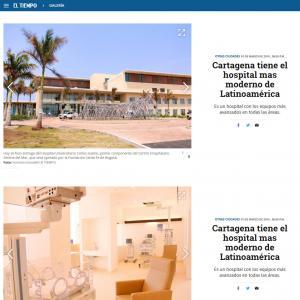 Cartagena tiene el hospital mas moderno de Latinoamérica